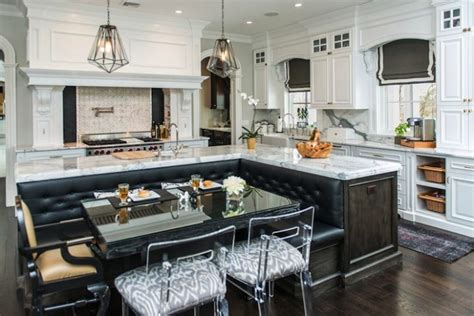 built in kitchen islands functional kitchen islands with built in seating you need