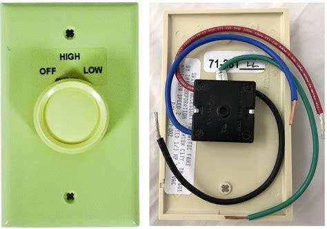 2 speed fan switch 2 sw 2 speed attic fan switch and plate