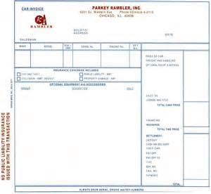 new car dealer invoice amc manuals brochures