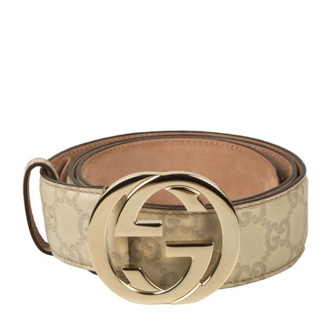 Jual Belt Gucci Guccisima G Buckle With Web Mirror Quality 7 gucci guccissima unisex belt interlocking g buckle
