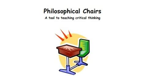 Philosophical Chairs by Teaching And Student Philosophical Chairs Avid