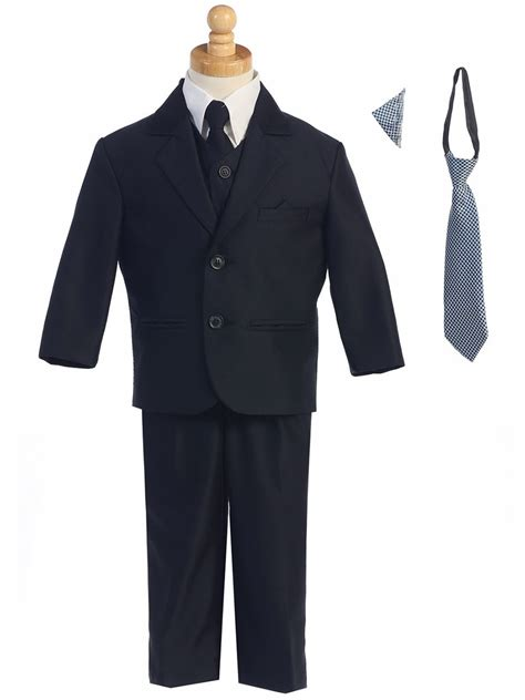 Two Button Suit navy two button herringbone pattern suit