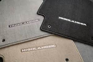 Toyota Highlander Floor Mats For Sale 2008 2009 2010 Toyota Highlander Gas Carpet Floor Mats