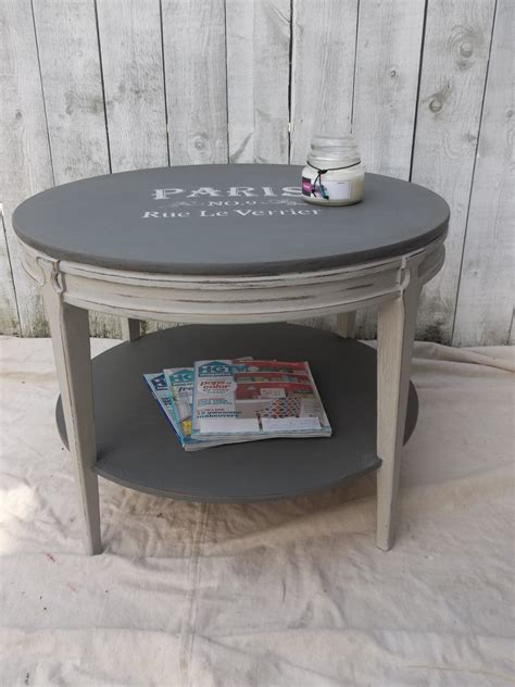 Chalk Painted Coffee Tables Vintage Mersman 31 25 Coffee Table Shabyy Chic Painted Custom Chalk Paint Distressed