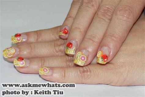Fimo Nail product review fimo nail fruity nail design chloeelee