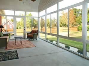 Inside Sunrooms Glass Sunroom Inside House Ideas