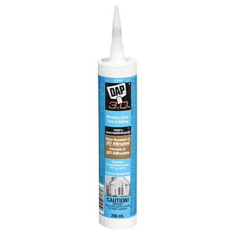 dap quot 3 0 quot all purpose clear sealant 300 ml r 233 no d 233 p 244 t