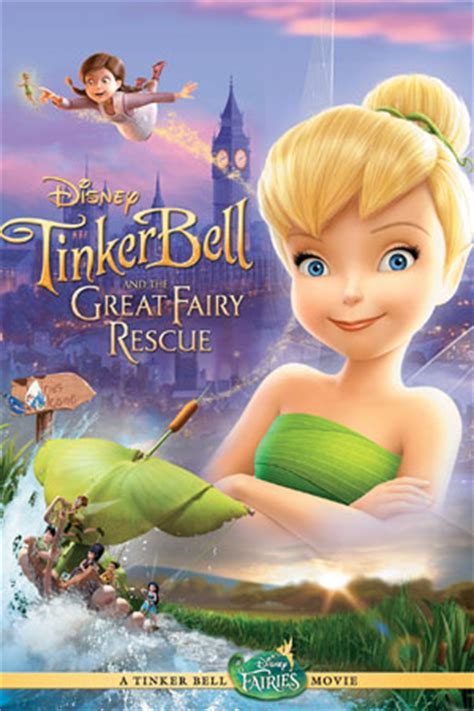 film cartoon tinkerbell tinker bell and the great fairy rescue disney wiki