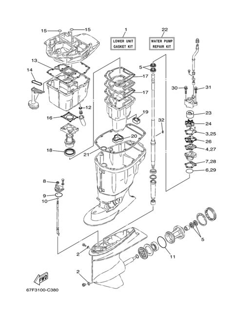 yamaha outboard motor parts diagram yamaha outboards parts diagram free wiring