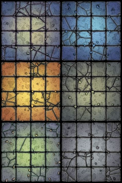 Floors And Decors custom tile set wip dungeons amp dragons castle ravenloft