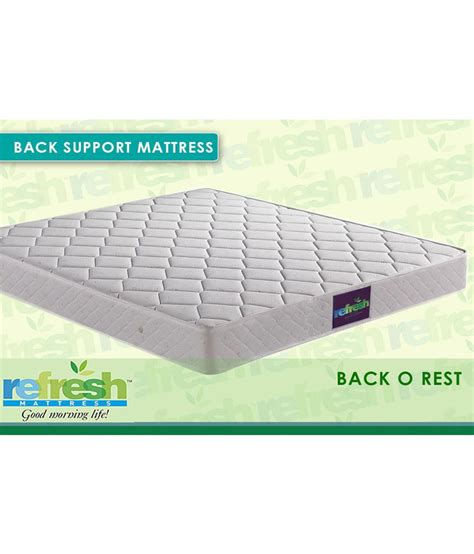 Orthopedic Mattress For Back by Refresh Back O Rest Orthopedic Mattress Buy Refresh Back