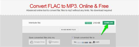 convert to mp3 android how to convert flac to mp3 ubergizmo