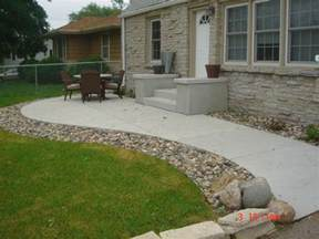 Concrete Paver Patio Designs Concrete Patio Designs For Warm Look Indoor And Outdoor Design Ideas