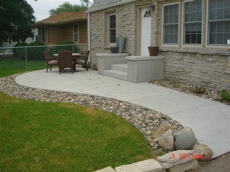 cement backyard ideas concrete patios a pietig concrete brick paving