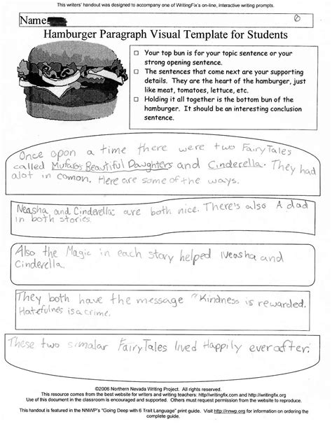 how to write a tale template tale unit