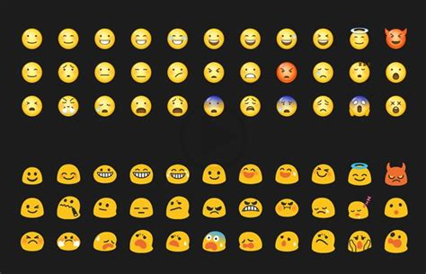 what do emojis look like on android android emojis to get a new look which is real like ios world