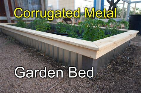 Fence For Raised Bed Garden - corrugated raised beds for my garden new style youtube
