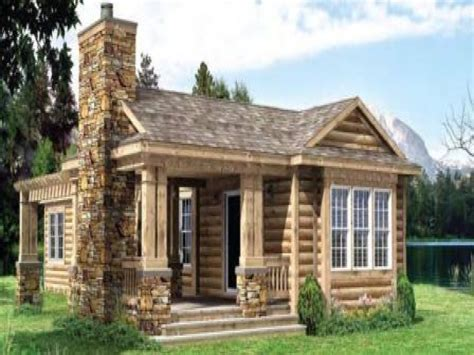 Small Log Homes Small Log Cabin Designs And Floor Plans