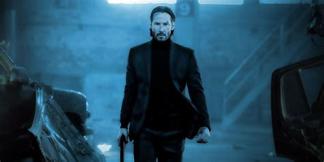 tattoo girl in john wick 2 the poster posse fires off a few shots at lionsgate s