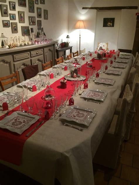 table noel blanc deco de table noel 2017