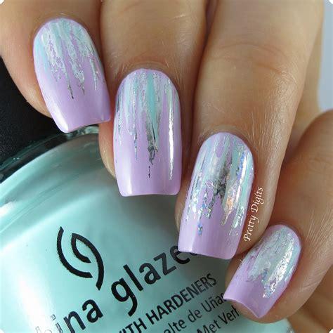 Nail Foil For Nail Ghl06 pretty digits waterfall nails using born pretty store