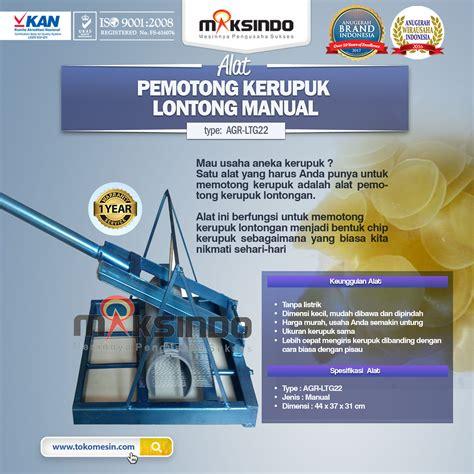 Blender Manual Di Surabaya jual alat pemotong kerupuk lontongan manual di surabaya