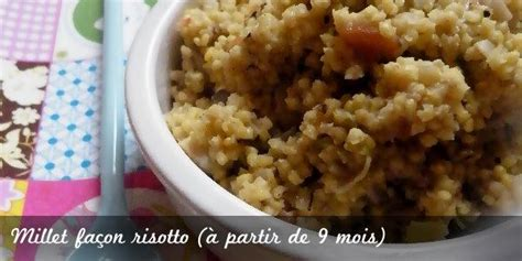 millet cuisin 233 fa 231 on risotto paperblog