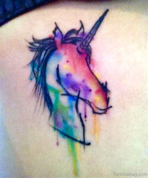 watercolor tattoo unicorn 63 adorable unicorn tattoos