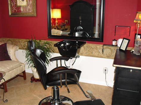 my future in home hair salon set up salon ideas