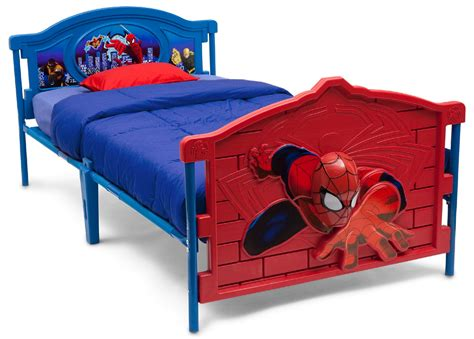 spiderman bunk bed delta children spiderman 3d twin bed baby toddler