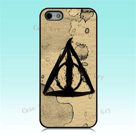 Casing Iphone X Harry Potter And The Deathly Hardcase Custom Cove iphone 5 iphone 5s iphone 5c harry potter deathly hallows iphone cover phone