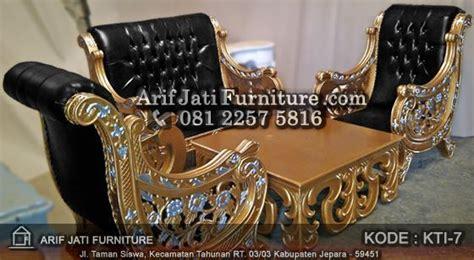 Kursi Tamu Rafi Ahmad kursi tamu ukir jepara mewah arif jati furniture