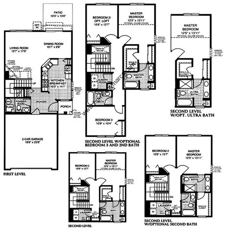 brighton homes floor plans brighton model in the lakewood grove subdivision in round