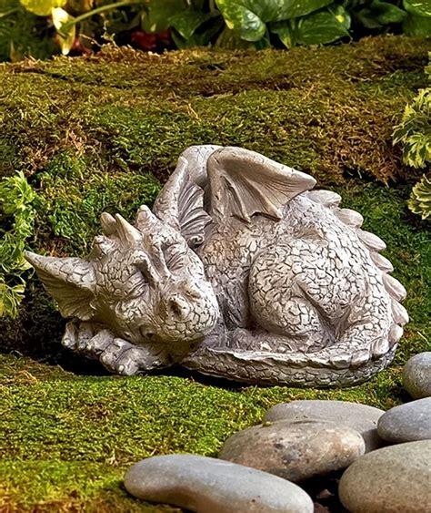 Outdoor Garden Decor Statues 1 Single Garden Statue Porch Patio Yard Lawn Deck Outdoor Home Decor Ebay