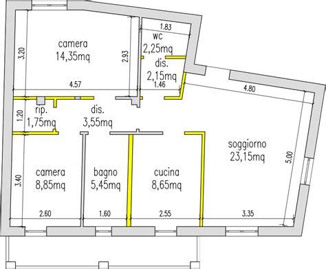 progetto appartamento 65 mq progetto 75 mq architettura a domicilio 174