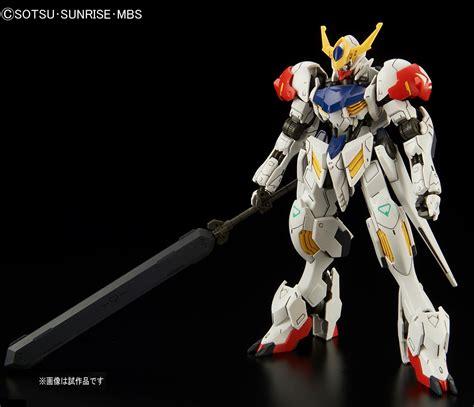 Barbatos Gundam gundam hg 1 144 gundam barbatos lupus release info