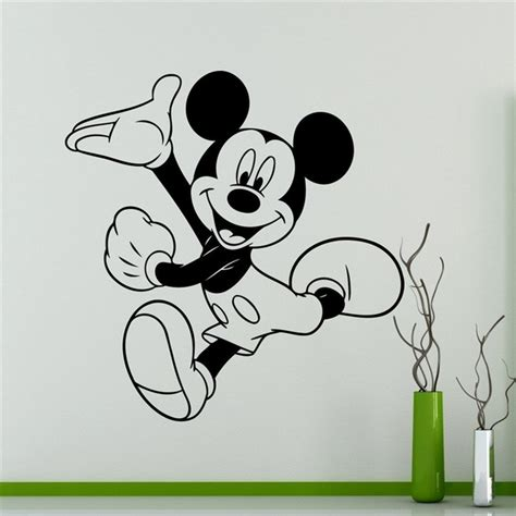 mickey mouse wall stickers mickey mouse wall sticker peenmedia