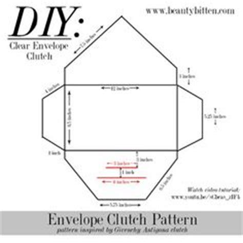 envelope handbag pattern free beautybitten a personal style beauty blog diy clear