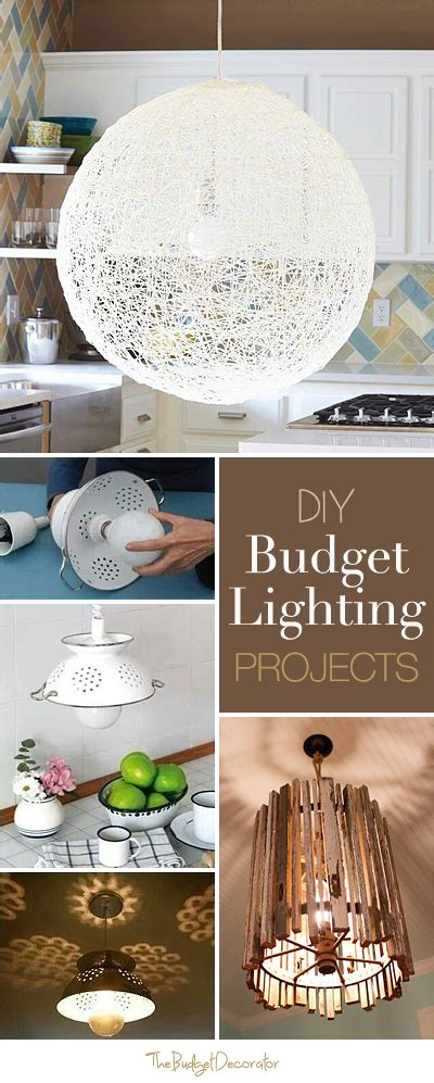 diy budget lighting projects lots of ideas and tutorials