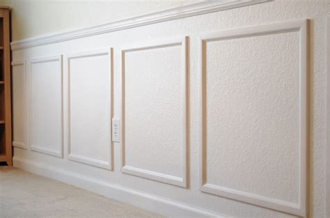 Wainscoting Molding Faux Wainscoting