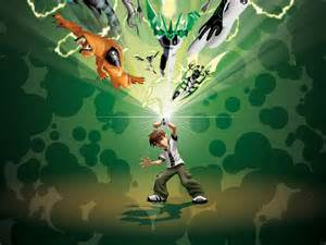 green ben 10 wallpaper