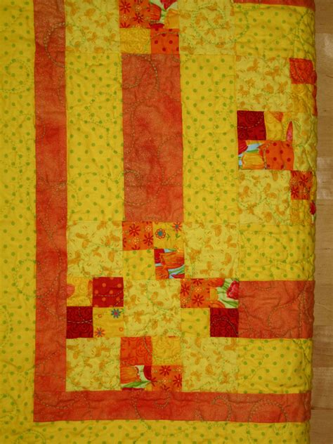 Yellow Quilt Spinnyspinny 187 Pre Cut Fabrics