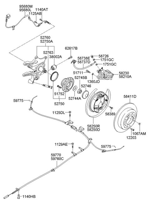 Jim Ellis Kia Hyundai Entourage Rear Wheel Hub Wheel Brake