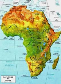 Map Of Africa Physical Features by Africa Physical Map Free Printable Maps