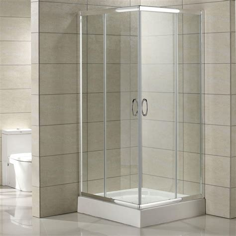 "34"" x 34"" Torres Corner Double Door Shower Enclosure"