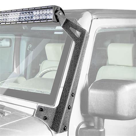 2016 jeep wrangler light bar 07 2016 jeep jk and jk unlimited led light bar steel a