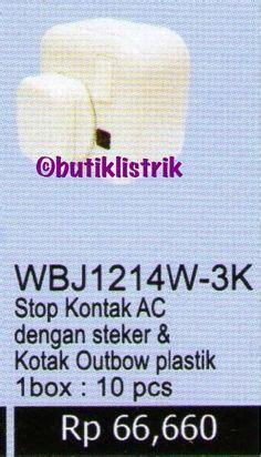 Stop Kontak Clipsal Outbow wbj6010 panasonic kotak outbow plastik untuk stop kontak