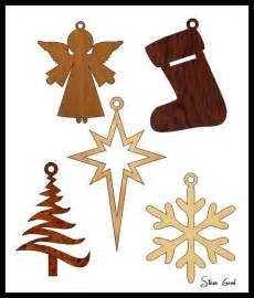 Simple is better these five scroll saw ornaments are simple to