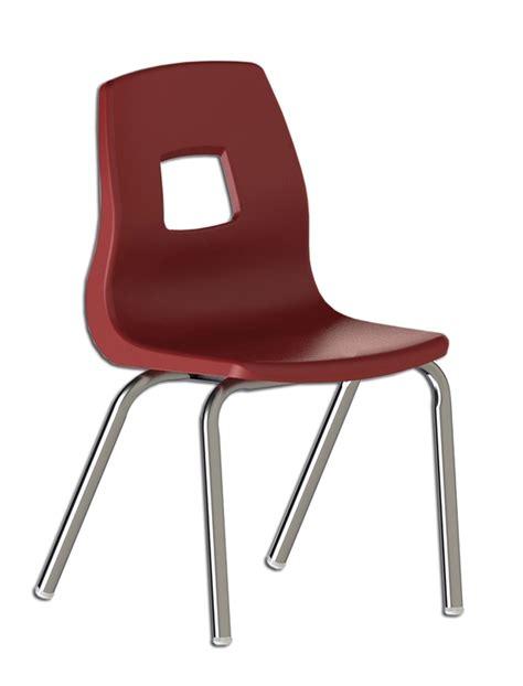 chaise scolaire ergonomique et empilable