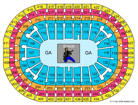 bell center seating chart gigantour centre bell tickets gigantour february 03